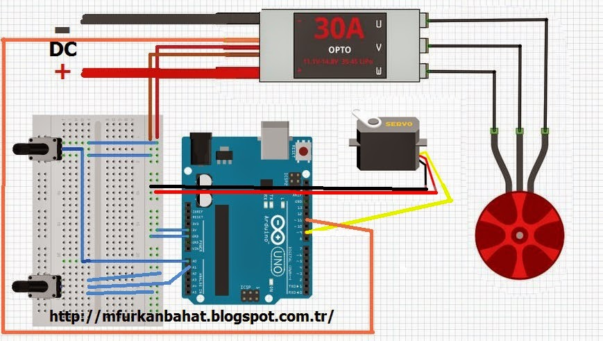 Control a DC Motor with an Arduino - All About Circuits