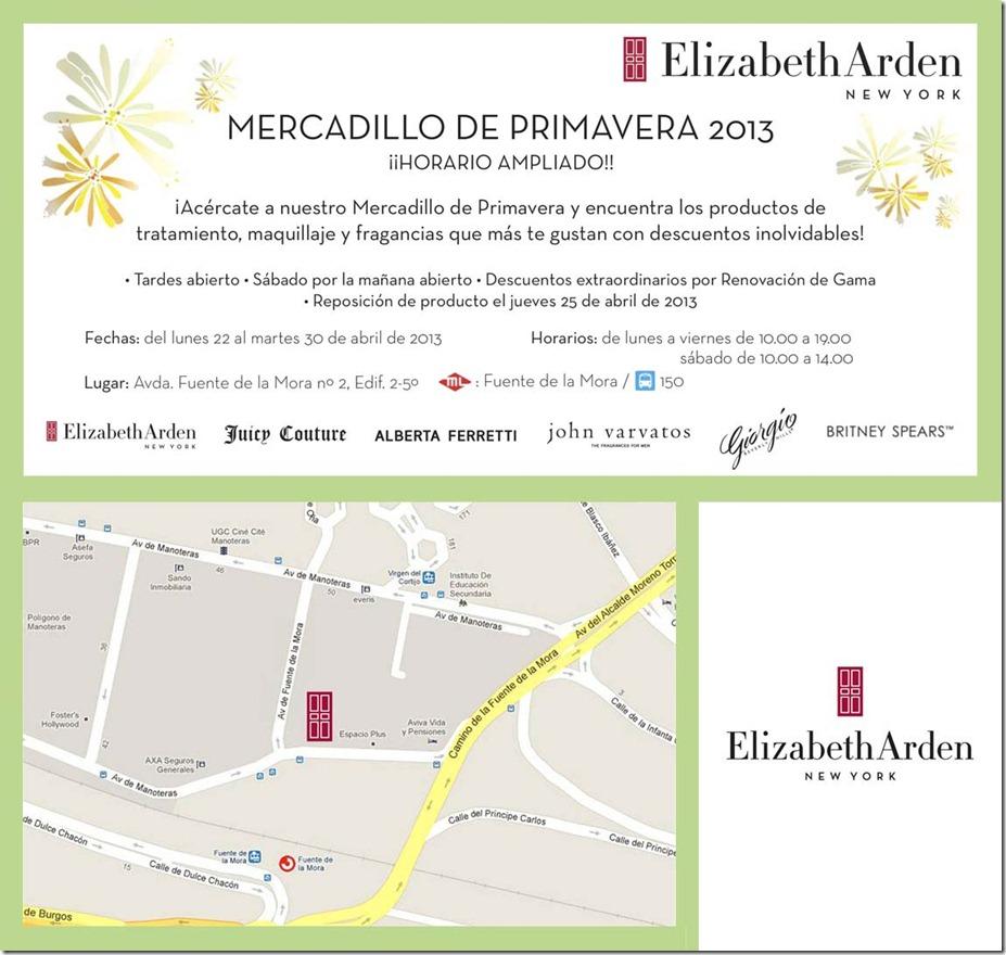 Mercadillo de Primavera de Elizabeth Arden