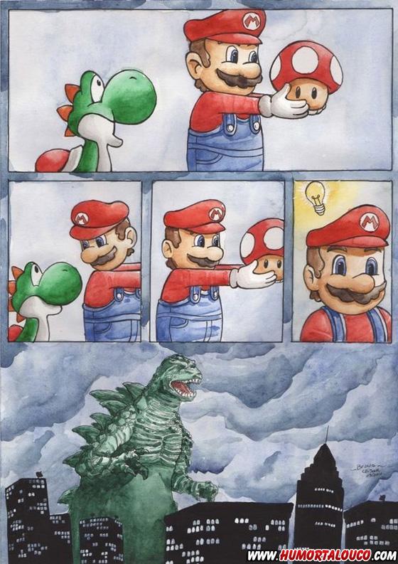 Péssima ideia Mário