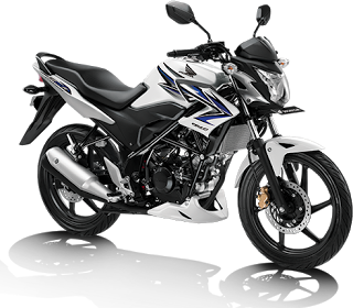 Foto Honda CB150R Putih - Biru