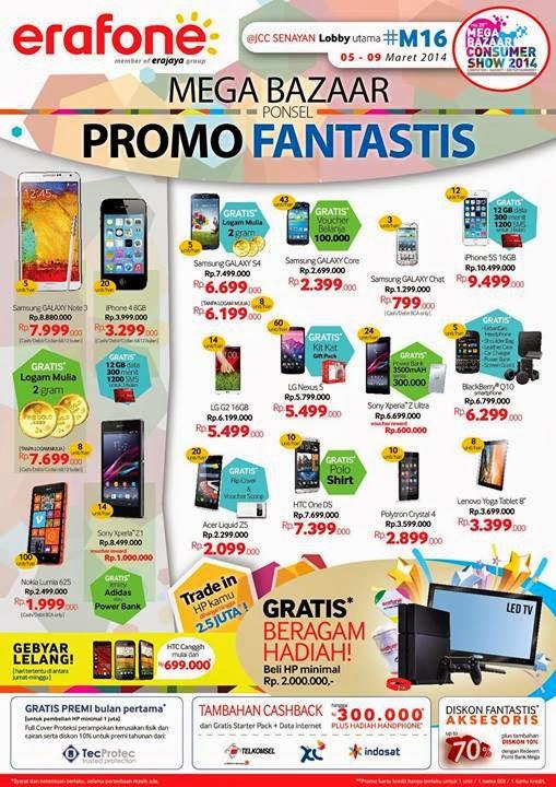 MBC 2014 Erafone Promo Fantastis Nokia Lumia 625 Rp 1.999.000