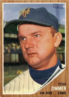 1962 Topps Don Zimmer