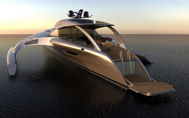 Most expensive yacht in the world of Chinese industry