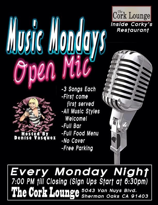 MUSIC MONDAYS OPEN MIC