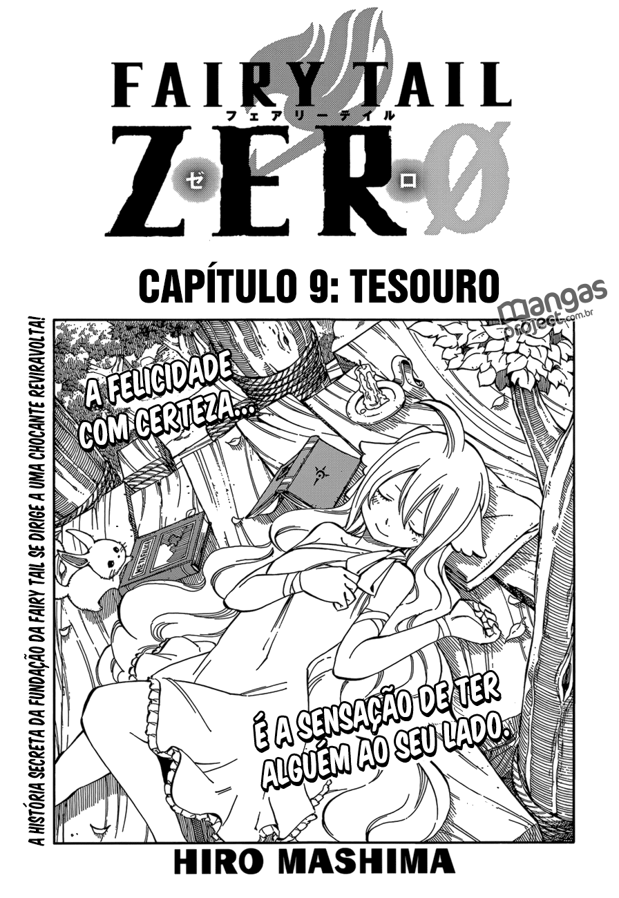Fairy Tail Zero 09 Mangá Português leitura online