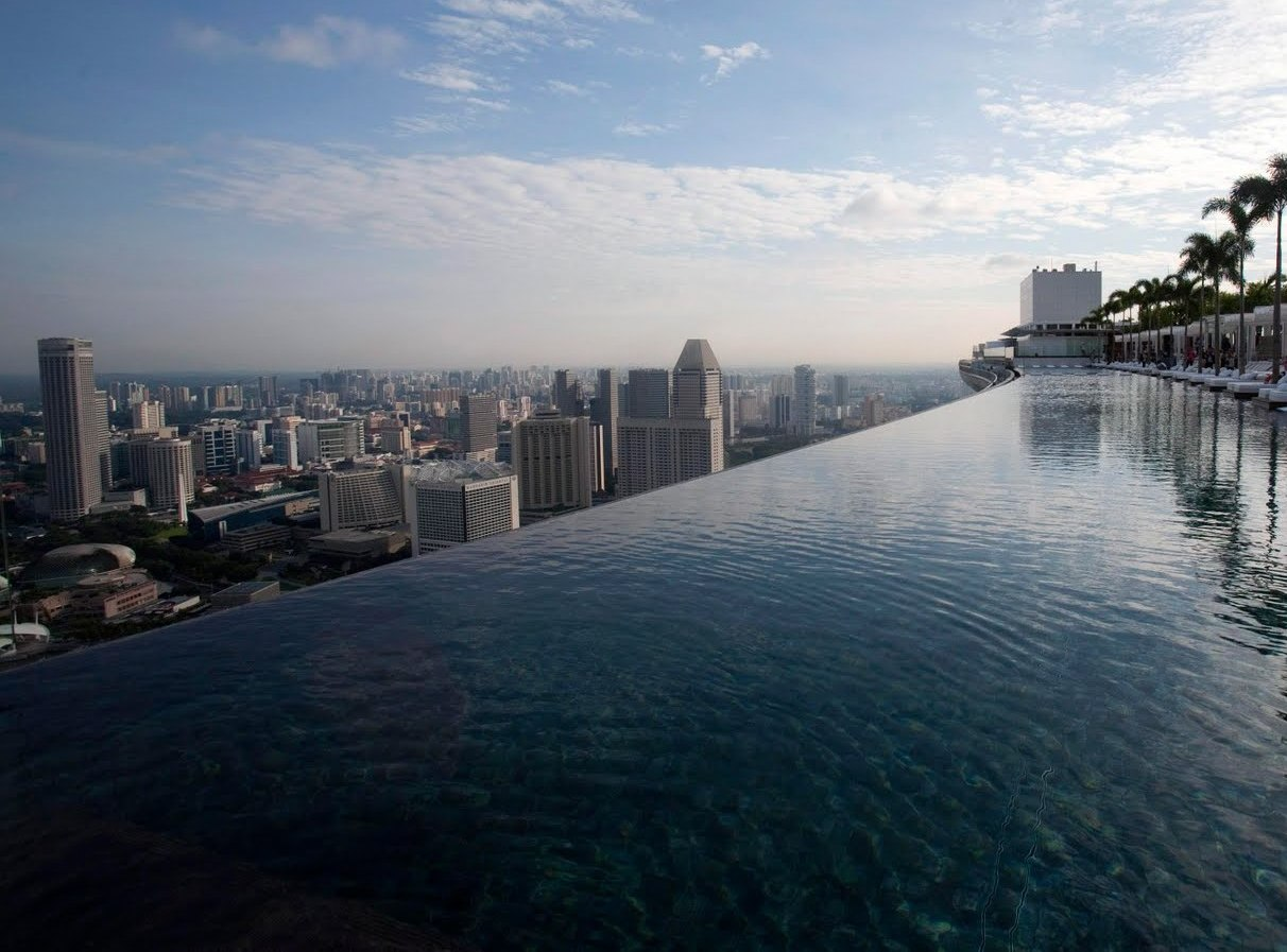 Port folio english marina bay sands singapore hotel - Marina bay sands piscina ...