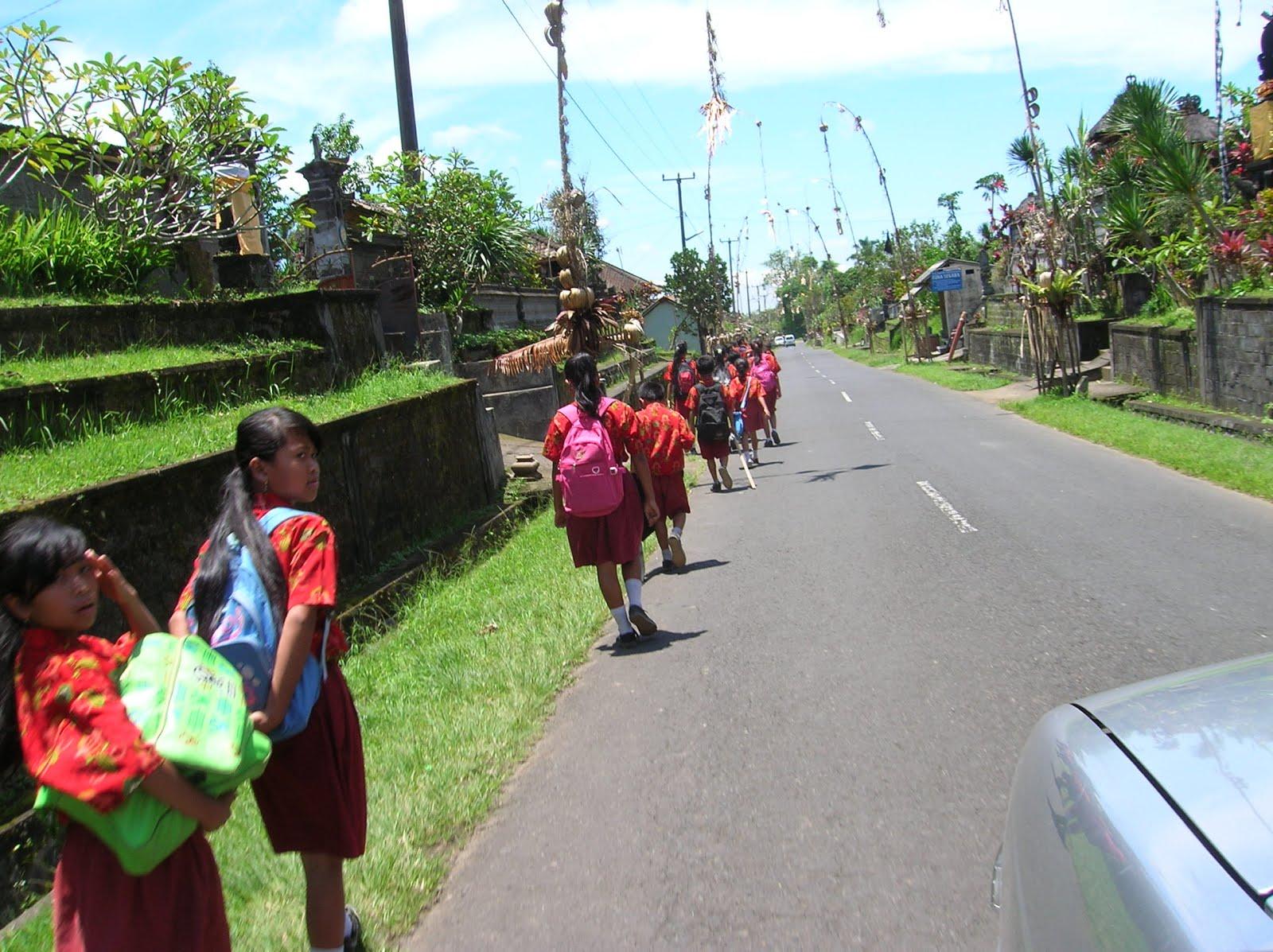 escolares, Bali, vuelta al mundo, round the world, La vuelta al mundo de Asun y Ricardo