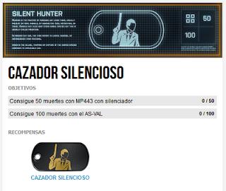 Misión Premium 5: Cazador Silencioso