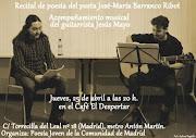 José María Barranco Ribot de Poesía Joven