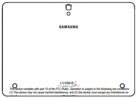Samsung SM-T800 Android Tablet in FCC