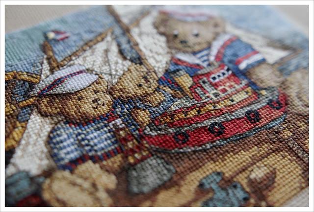 мишки на корабле