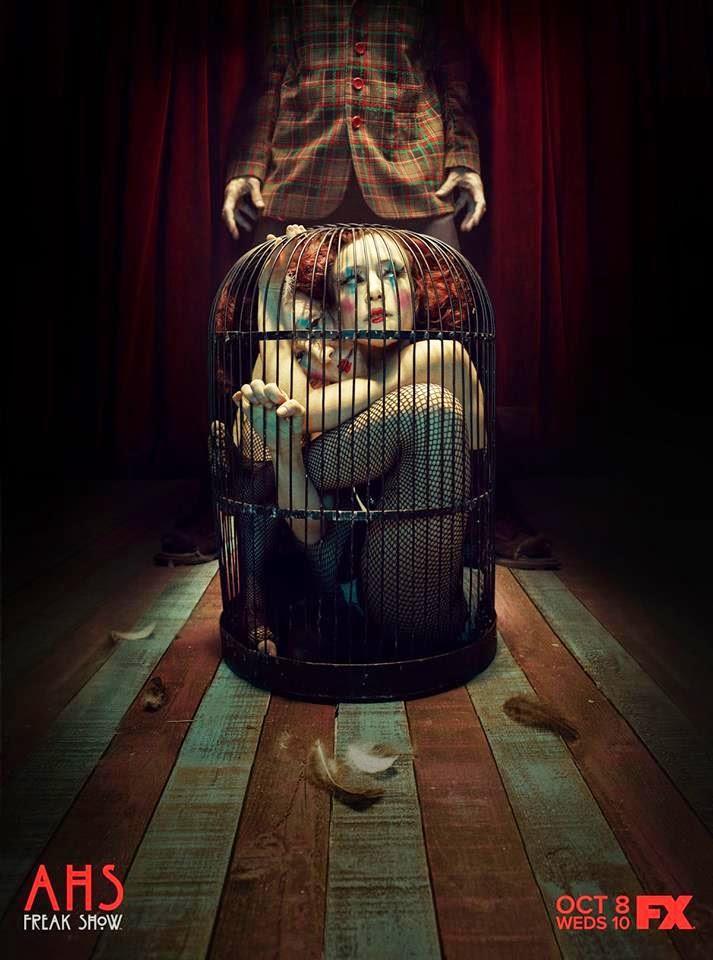 ¡Hoy se estrena en USA el 4x01 de 'American Horror Story: Freak Show'!