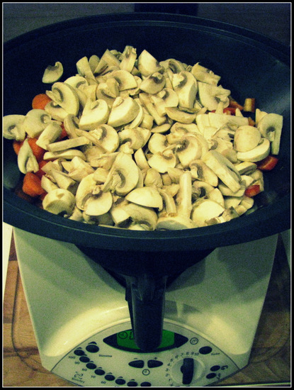 Thermomix Steamed Vegetables