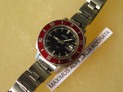 SEIKO MATIC LADY - RED BEZEL - AUTOMATIC 2517 3270