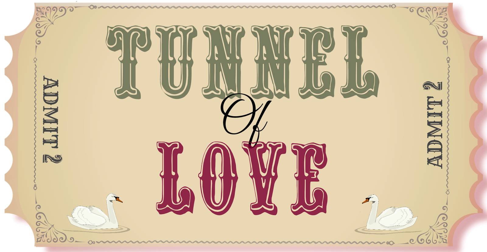 Valentine's Day Tunnel of Love Printable
