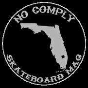 no comply skateboard mag ©
