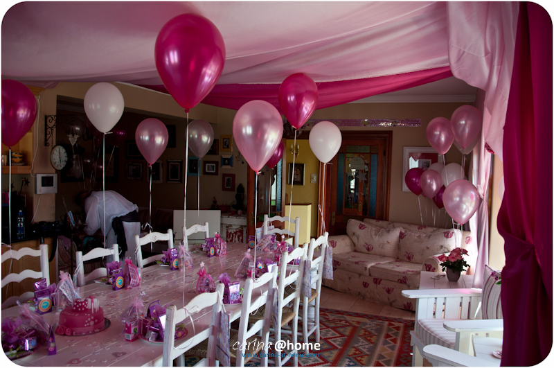 Johannita Did An Awesome Job By Decorating And Styling Her House For This Little 3 Year Old Princess It Looked Amazing