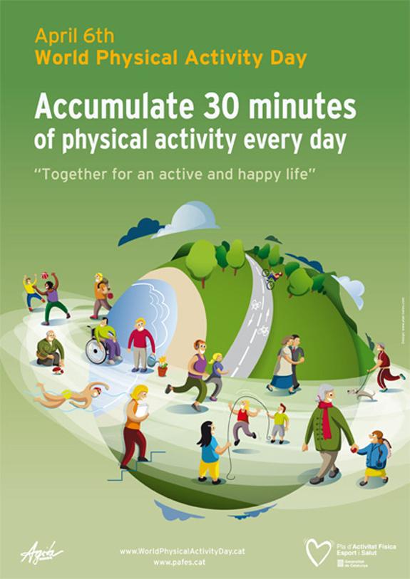 Resultat d'imatges de physical exercise day world
