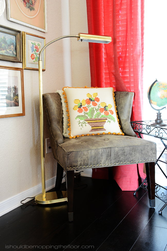 DIY Vintage Art Gallery Wall   Collect pieces from thrift stores and flea markets for a fun, budget-friendly display.