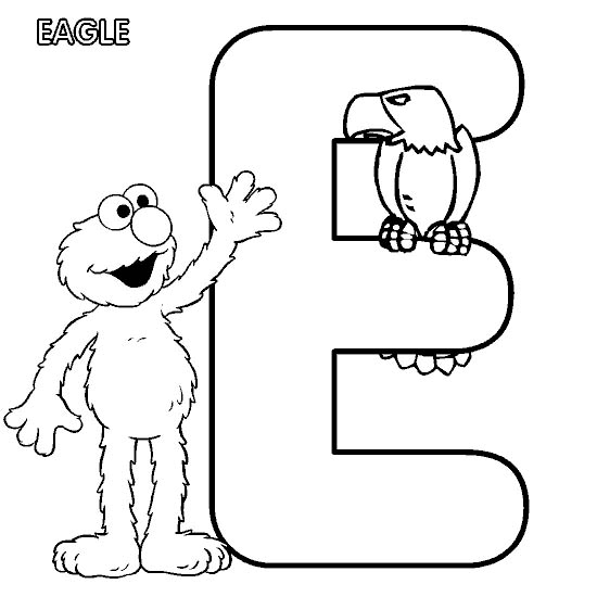 Birds And Elmo Coloring Page Pictures to Pin on Pinterest  PinsDaddy