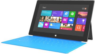 """La tableta Surface de Microsoft ya en """"preventa"""""""