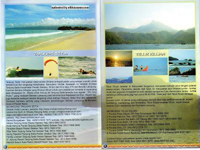Brosur+Peta Destinasi Pariwisata Lampung