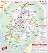 Nuevo Plano de Metro Madrid que integra RENFE cercanías (nuevo plano de metro madrid que integra renfe cercan adas)