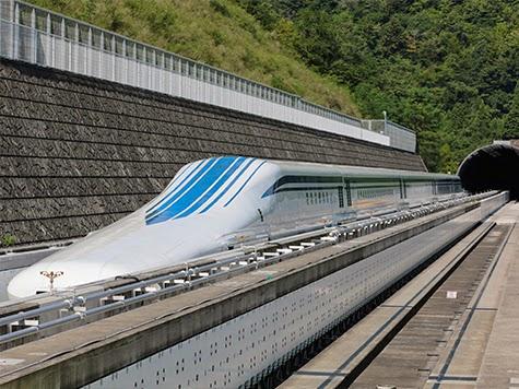 Trem: linha com tecnologia magnética fará com que trens viagem a mais de 480 km/h
