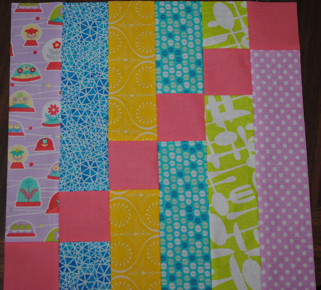 newbee quilters block- february