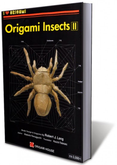 The Origami Book Robert J Lang Origami Insects And Their Kin