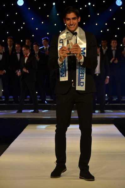 Mister World 2012 winner Francisco Escobar Colombia