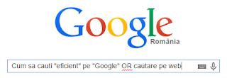 sfaturi de cautare pe motorul de cautare google
