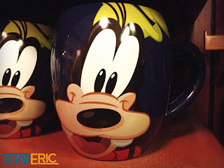 Goofy souvenir coffee mug found in Disneyland California