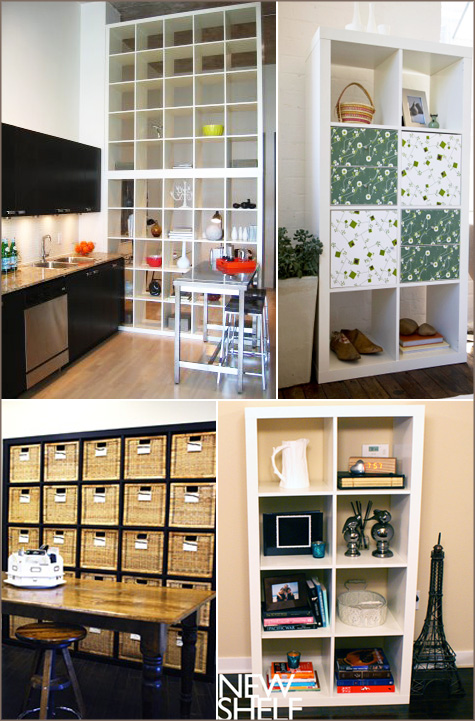 expedit ikea bookcase ideas