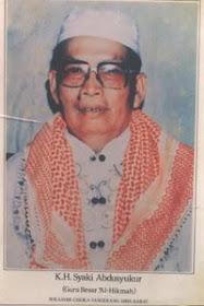 ABAH K.H.SYAKI ABDUSSYUKUR