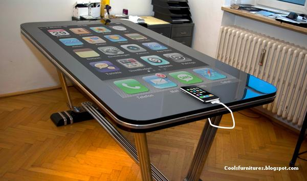 Magical Table - 58 Inch Table Connect with iPhone