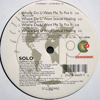 Solo - Where Do You Want Me To Put It (VLS) (1995)