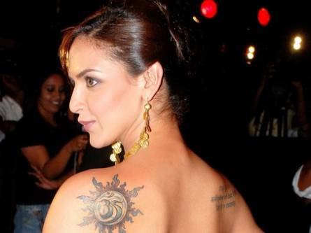 indian celebrities tattoos