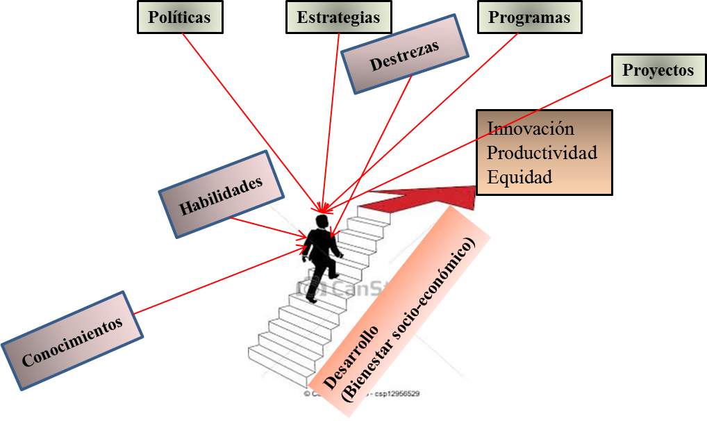 Camino hacia la innovación, productividad y equidad