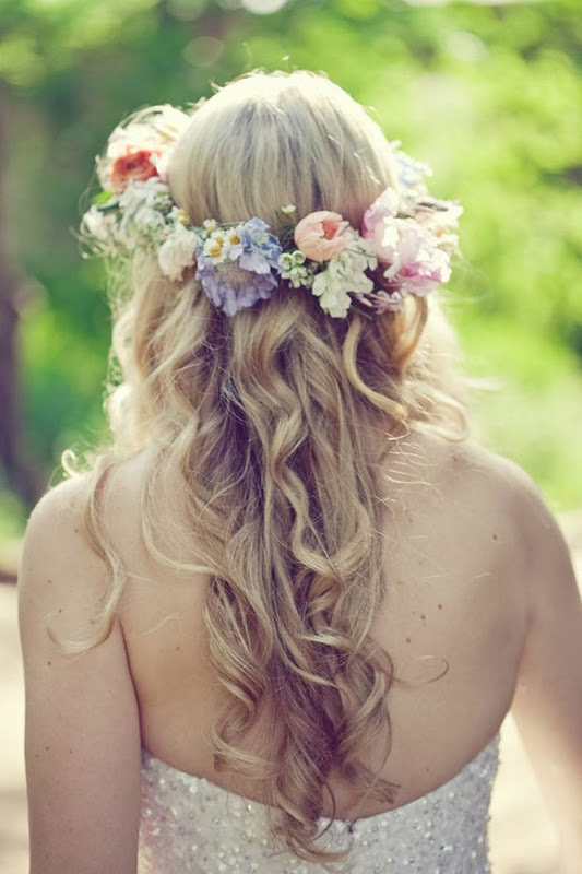 Lovely Lost Things Wedding Wednesday Flower Crown