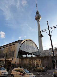 Alexanderplatz, bahnhof, fernsehturm