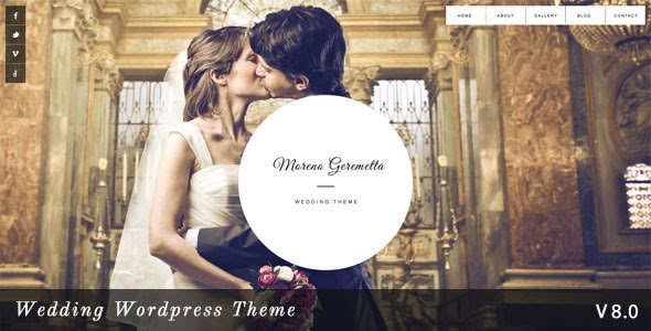 Moreno v8.0 - Responsive Wedding Wordpress Theme