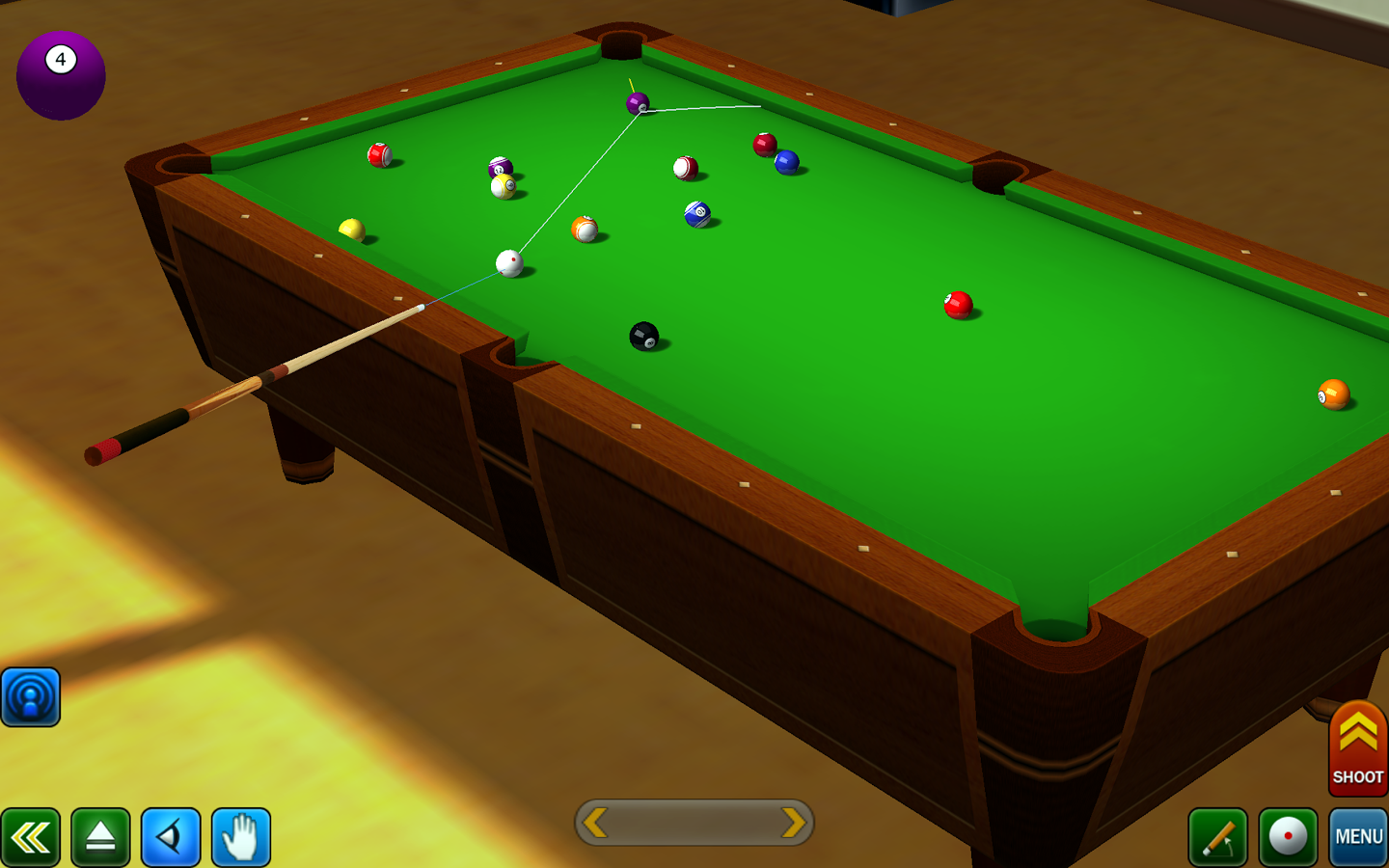 Pool Games For Free : Pool break pro d billiards v apk free