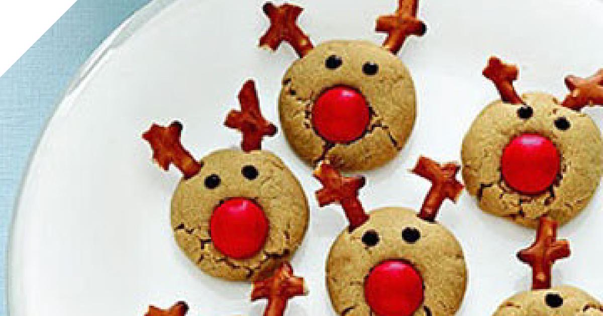 Печенье олени рецепт