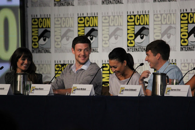 Glee Comic-Con Panel 2012