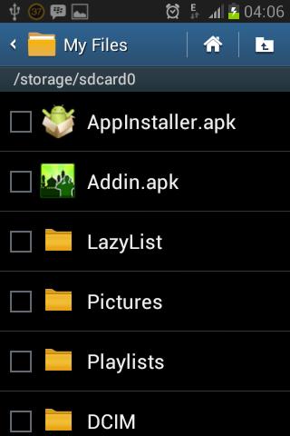 Hasilnya file Apk