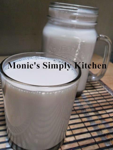 membuat susu kedelai