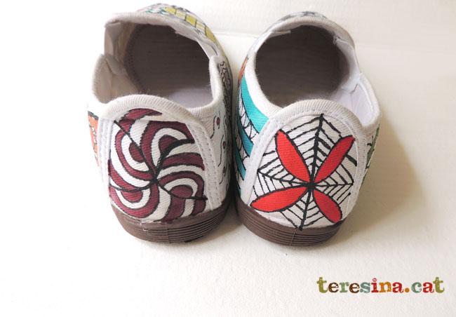 Zapatillas+pintadas+a+mano