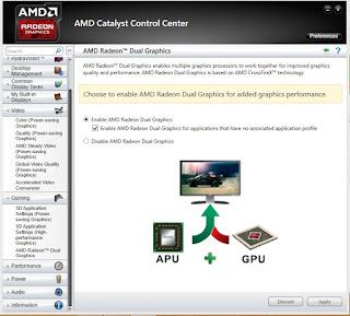 Cara setting VGA AMD Catalyst Control agar tidak Lag pada PES 2015