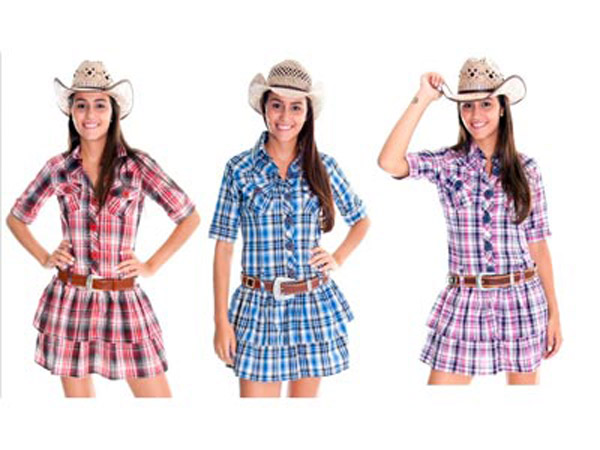 Fotos melhores vestidos para usar festa junina